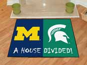 Michigan - Michigan State House Divided Rugs 33.75x42.5