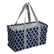Houston Texans Quatrefoil Picnic Caddy