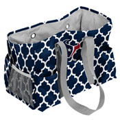 Houston Texans Quatrefoil Jr Caddy