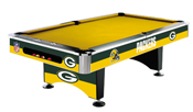 Green Bay Packers 8' Pool Table