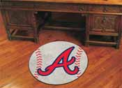MLB - Atlanta Braves Baseball Mat 27 diameter