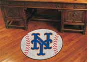 MLB - New York Mets Baseball Mat 27 diameter