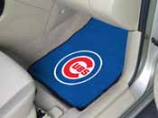 MLB - Chicago Cubs 2-piece Carpeted Car Mats 17x27