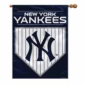 New York Yankees 2-Sided 28 X 40 House Banner