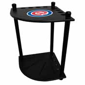 Chicago Cubs Corner Cue Rack