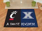 Xavier / Cincinnati House Divided Rugs 33.75x42.5
