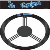 Los Angeles Dodgers Poly-Suede Steering Wheel Cover