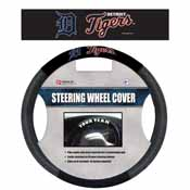 Detroit Tigers Poly-Suede Steering Wheel Cover