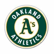 Oakland Athletics Vinyl Magnet