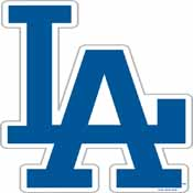 Los Angeles Dodgers Vinyl Magnet