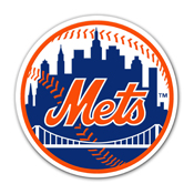 New York Mets Vinyl Magnet