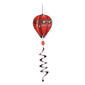 Georgia Bulldogs Hot Air Balloon Spinner