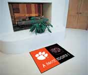 Clemson/South Carolina House Divided Rugs 33.75x42.5