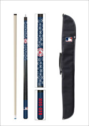 Boston Red Sox Cue And Case Set