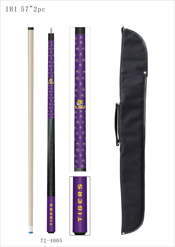 Louisiana State University Cue And Case Set