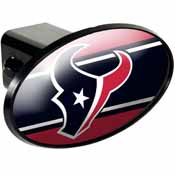Houston Texans Oval Trailer Hitch Cover