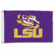 LSU Tigers 2 Ft. X 3 Ft. Flag W/Grommets