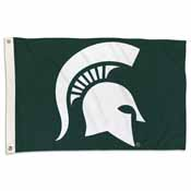 Michigan State Spartans 2 Ft. X 3 Ft. Flag W/Grommets