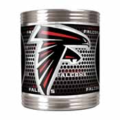Atlanta Falcons Stainless Steel Can Holder with Metallic Graphics