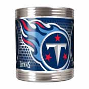 Tennessee Titans Stainless Steel Can Holder with Metallic Graphics