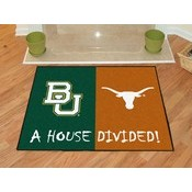 Baylor - Texas House Divided Rugs 33.75x42.5