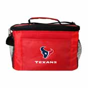 Houston Texans 6-Pack Cooler/Lunch Box