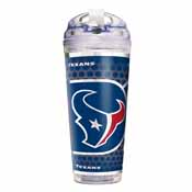 Houston Texans 24 Oz. Acrylic Tumbler w/ Straw