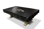 Baltimore Ravens 8' Deluxe Pool Table Cover