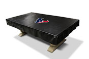 Houston Texans 8' Deluxe Pool Table Cover