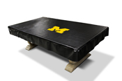 University of Michigan 8' Deluxe Pool Table Cover