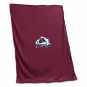 Colorado Avalanche Sweatshirt Blanket