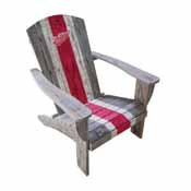 Detroit Redwings Wooden Adirondack Chair
