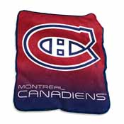 Montreal Canadians Raschel Throw