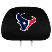 Houston Texans Headrest Covers Set Of 2