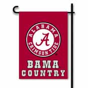 Alabama Crimson Tide 2-Sided Country Garden Flag