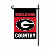 Georgia Bulldogs 2-Sided Country Garden Flag