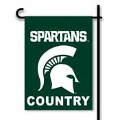 Michigan State Spartans 2-Sided Country Garden Flag