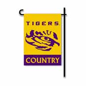 LSU Tigers 2-Sided Country Garden Flag