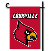 Louisville Cardinals 2-Sided Garden Flag