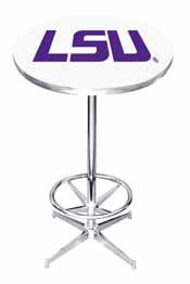 Louisiana State University Logo Pub Table