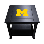 University of Michigan Side Table