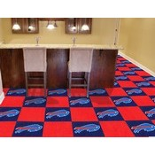 NFL - Buffalo Bills Carpet Tiles 18x18 tiles