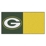 NFL - Green Bay Packers Carpet Tiles 18x18 tiles