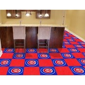 MLB - Chicago Cubs Carpet Tiles 18x18 tiles