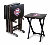 Philadelphia Phillies 4 TV Trays with Stand