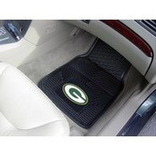 NFL - Green Bay Packers Heavy Duty 2-Piece Vinyl Car Mats 17x27