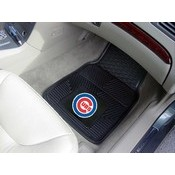 MLB - Chicago Cubs Heavy Duty 2-Piece Vinyl Car Mats 17x27