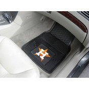 MLB - Houston Astros Heavy Duty 2-Piece Vinyl Car Mats 17x27