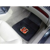 NFL - Cincinnati Bengals Heavy Duty 2-Piece Vinyl Car Mats 17x27