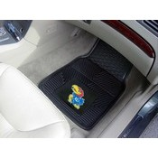 Kansas Heavy Duty 2-Piece Vinyl Car Mats 17x27